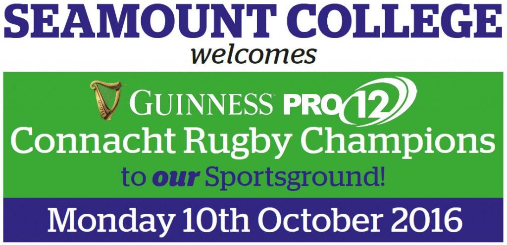 Connacht Rugby visit Seamount