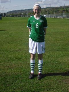 L Casserly U16 Irish International Womens Team
