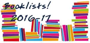 Booklists 2016-17
